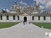 Visitez les châteaux de la Loire grâce à Google Street View