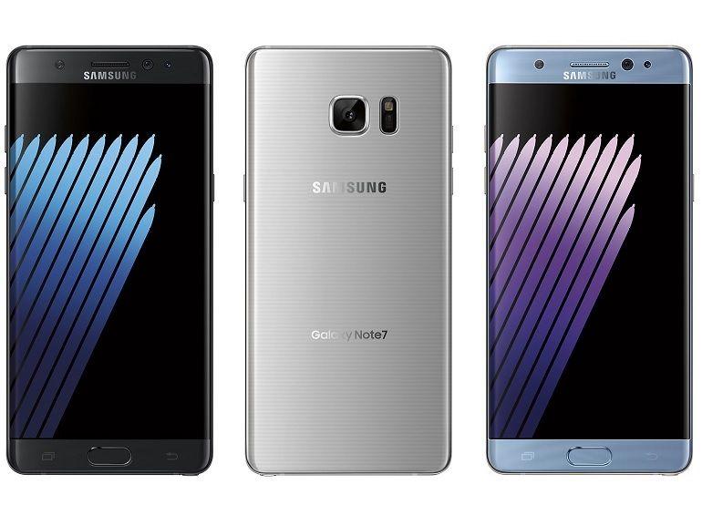 Samsung Galaxy Note 7 : le scanner d'iris et l'interface se dévoilent