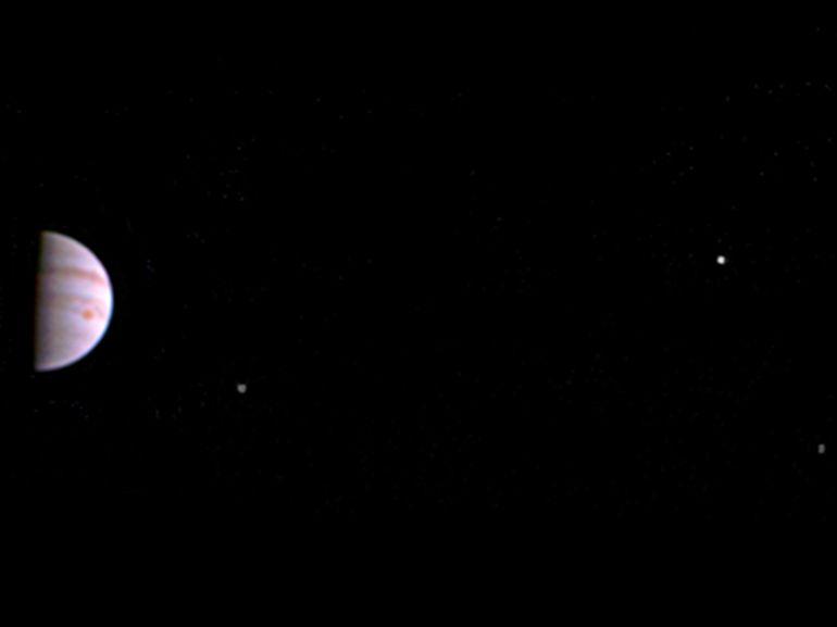La NASA publie la première image de Jupiter envoyée par Juno