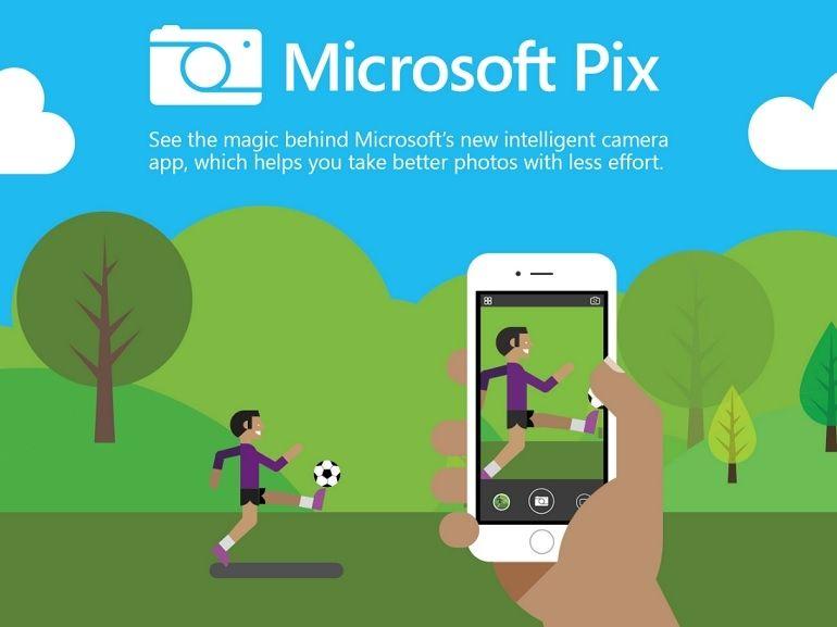 Microsoft Pix, ou comment capturer de meilleures photos avec l'iPhone