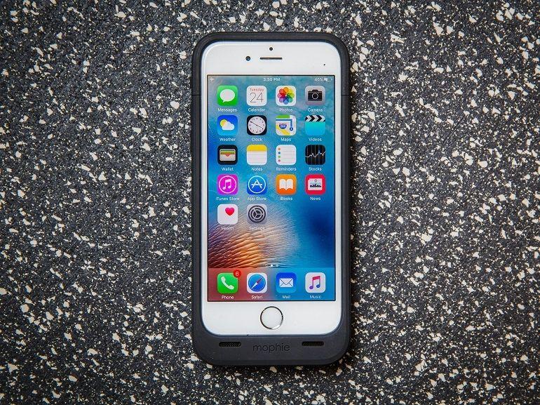 Batterie iPhone 6 / 6s Mophie Juice Pack Plus