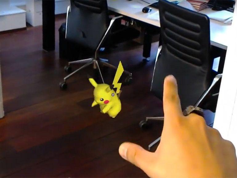 Windows 10 et Pokemon Go : à quoi cela ressemblerait sur Hololens ?