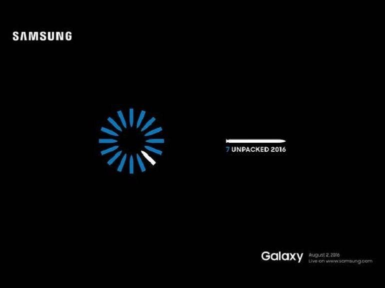Samsung présentera son Galaxy Note 7 le 2 août prochain