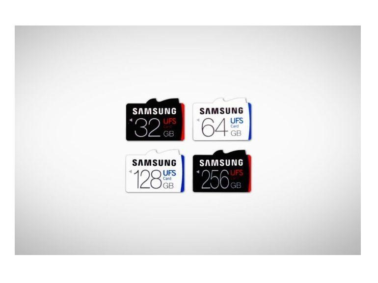 Samsung UFS, des cartes mémoires aussi rapides qu'un SSD