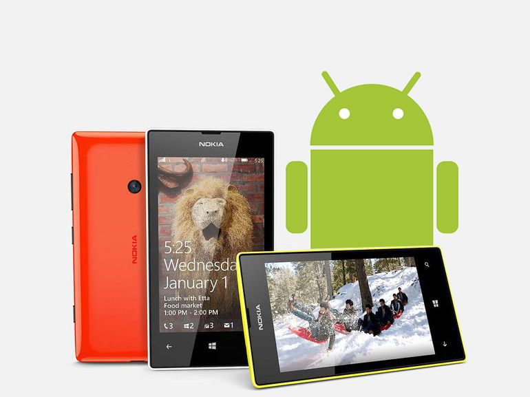 Nokia Lumia 525 avec Android 6 : ça fonctionne !