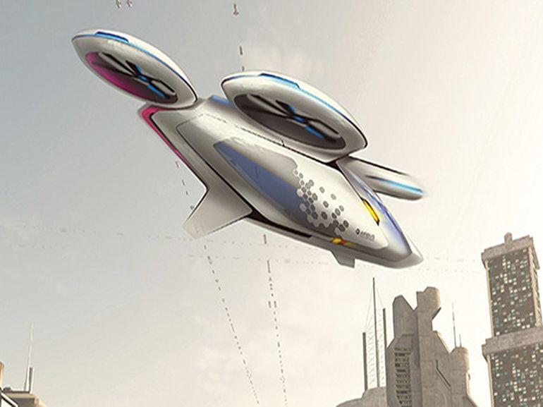 Des taxis volants dans le ciel parisien pour les JO de 2024 ?