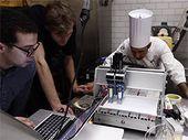 Une imprimante 3D capable de cuisiner des hors-d'œuvre