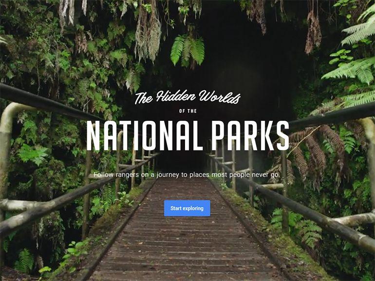 Google: visitez les parcs nationaux américains grâce à la réalité virtuelle