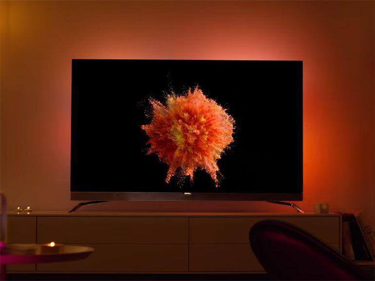 Philips officialise son premier téléviseur OLED 4K avec Android et Ambilight