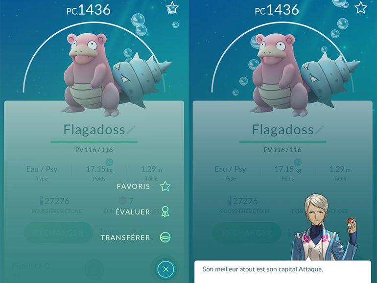 Pokémon Go: la nouvelle mise à jour vous en apprend plus sur vos Pokémon