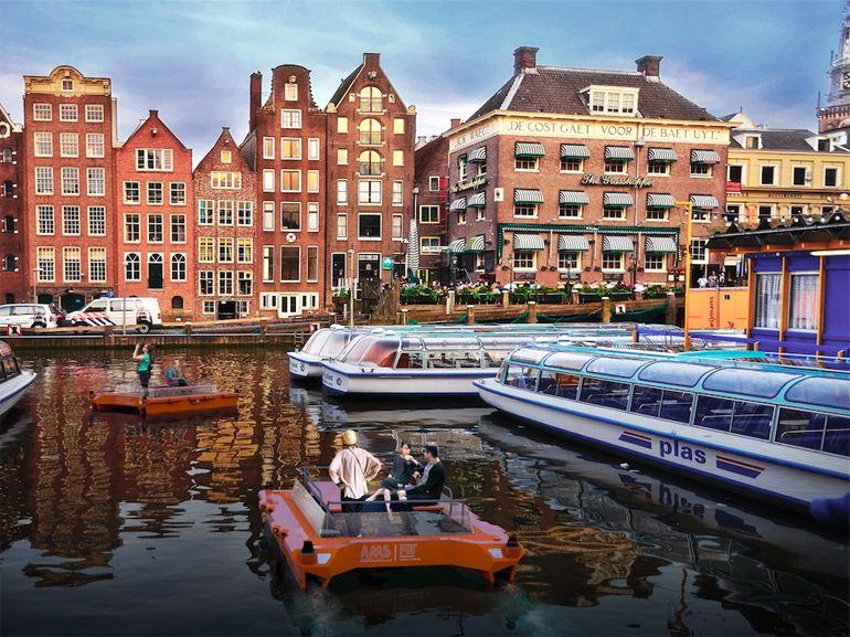 Des bateaux autonomes sur les canaux d'Amsterdam dès 2017