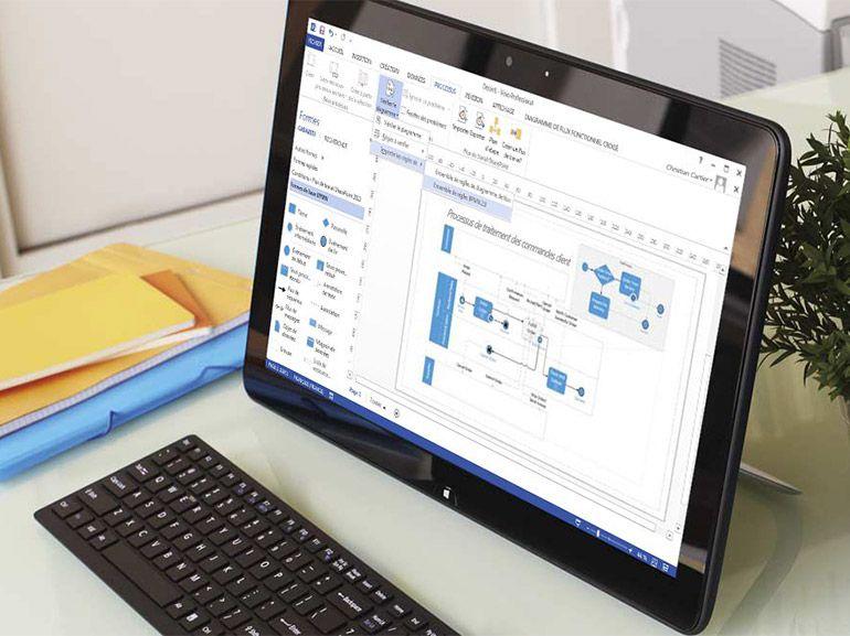 Microsoft à la recherche de testeurs pour Visio sur iPad