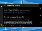 Windows 10 mobile : la version anniversaire enfin disponible