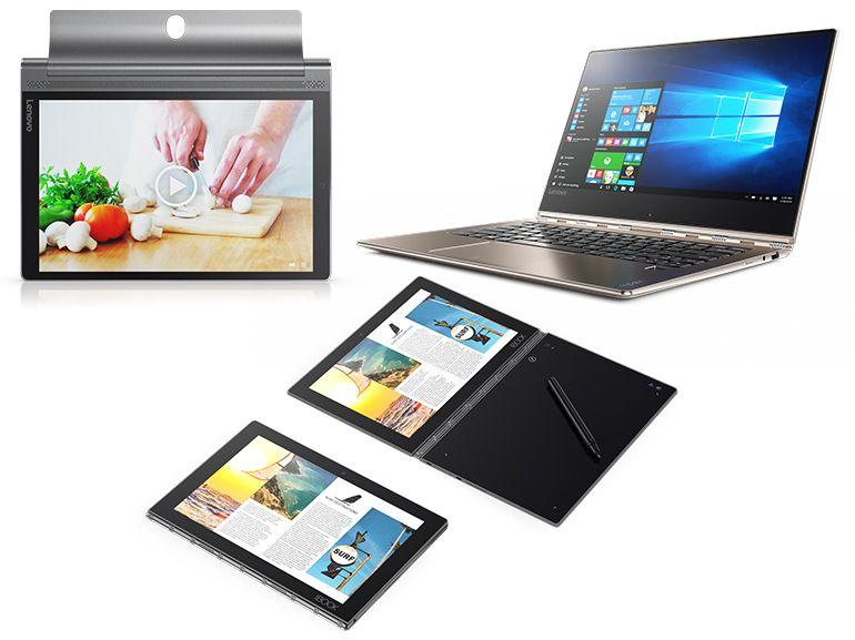 IFA 2016: Lenovo lance les convertibles Yoga Book, Yoga 910, et la tablette Yoga Tab 3 Plus