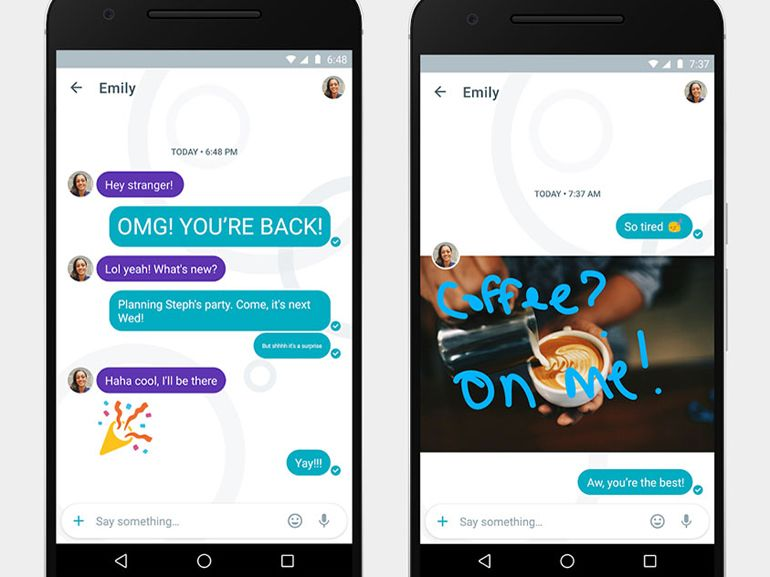 Google Allo : le service de messagerie est disponible