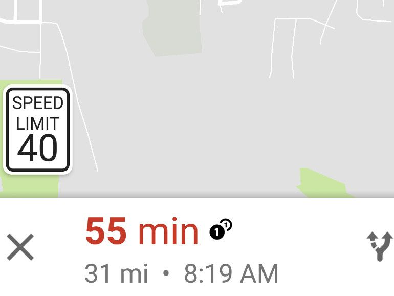 Google Mapsintégrerait bientôt les limitations de vitesse