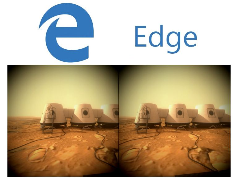 Edge WebVR : Microsoft prépare le navigateur à la réalité virtuelle