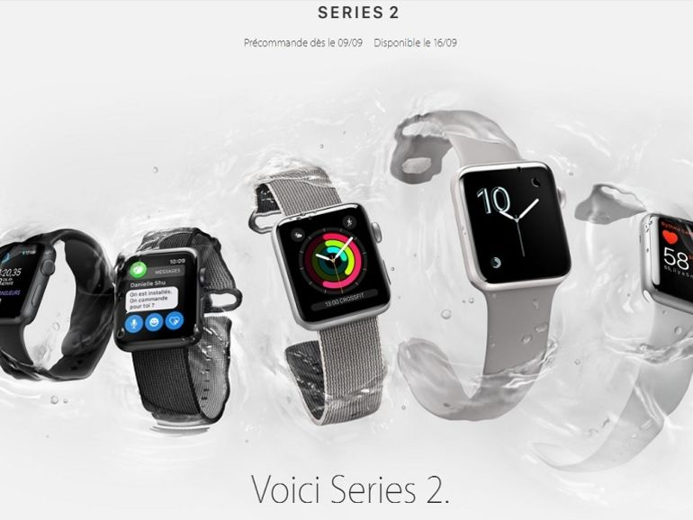 Bon plan : l'Apple Watch Series 2 à 249€ ce 26 janvier