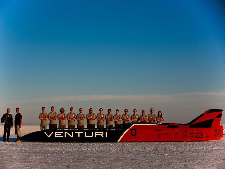 Venturi VBB-3 : la voiture électrique la plus rapide du monde