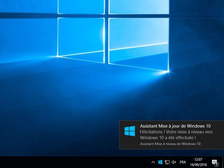 Windows 10 anniversaire se diffuse lentement, mais c'est volontaire