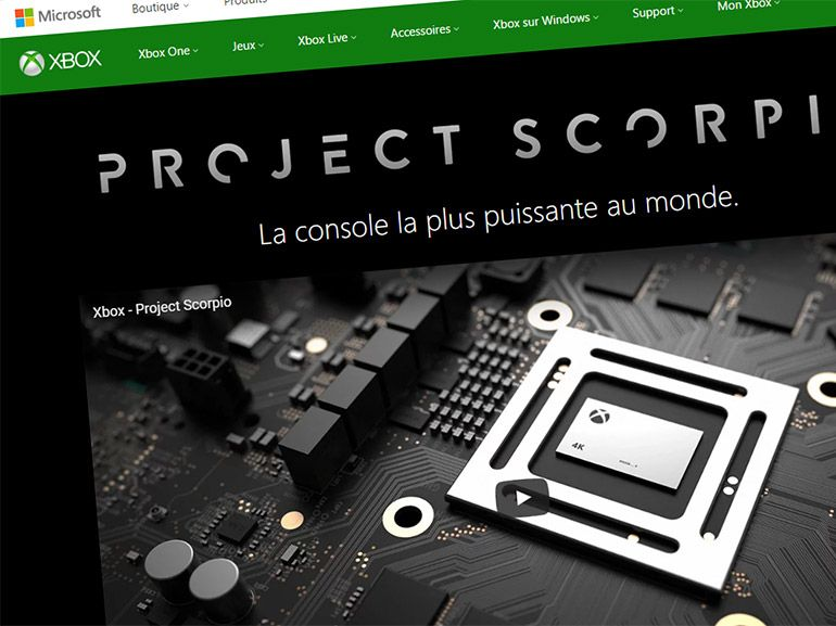 Microsoft Xbox Scorpio, une présentation dans la semaine ?