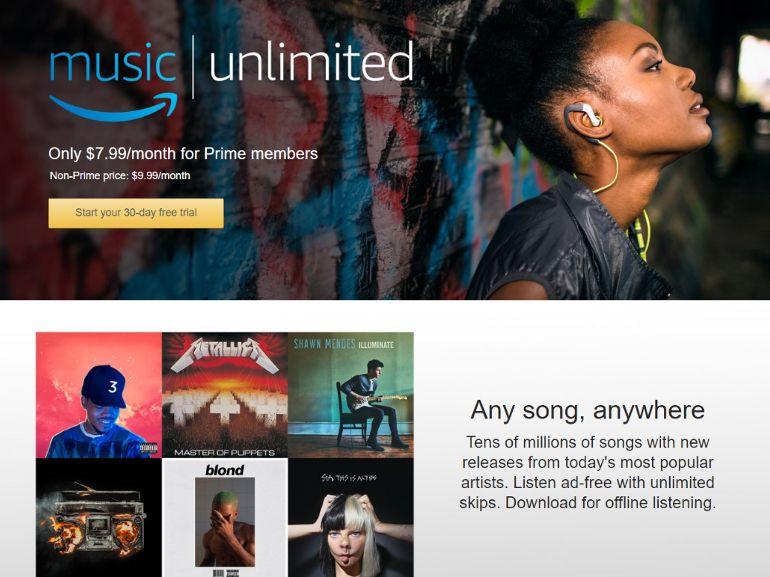 Amazon Music Unlimited : le service de streaming est disponible en France