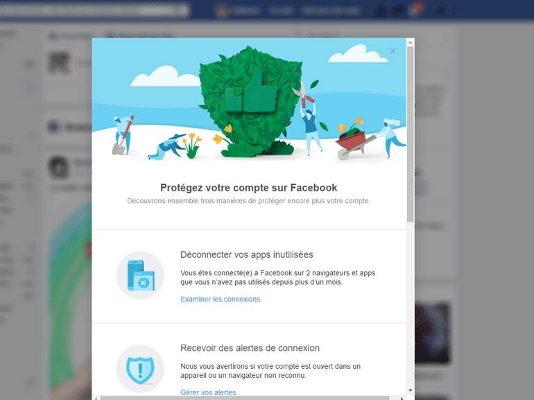 Virus Messenger : Facebook livre ses conseils pour protéger son profil