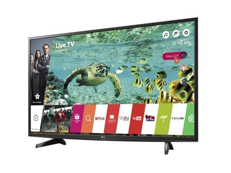 Bon plan : téléviseur LG 4K, 123 cm à 499€