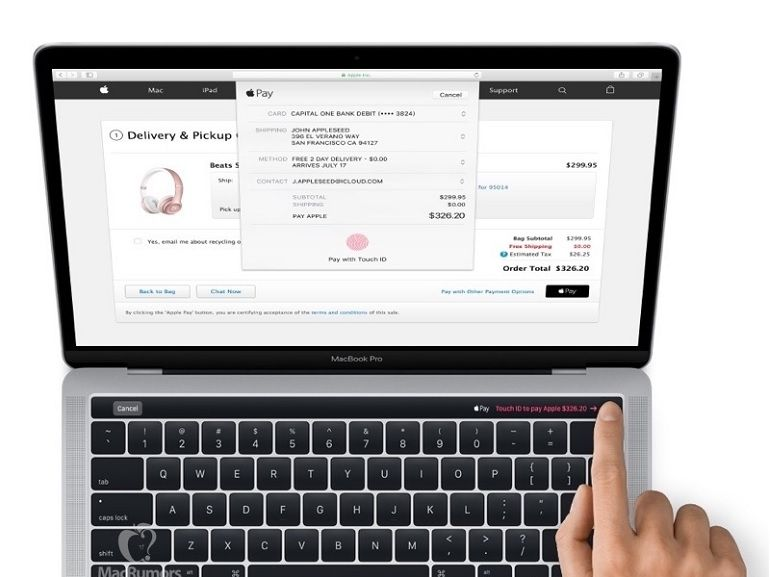"MacBook Pro 2016, une image révèle le design et la ""Magic Toolbar"" avant l'heure"