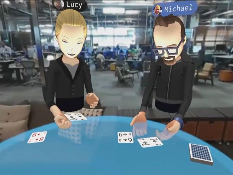 Facebook dévoile sa vision d'une réalité virtuelle « sociale »