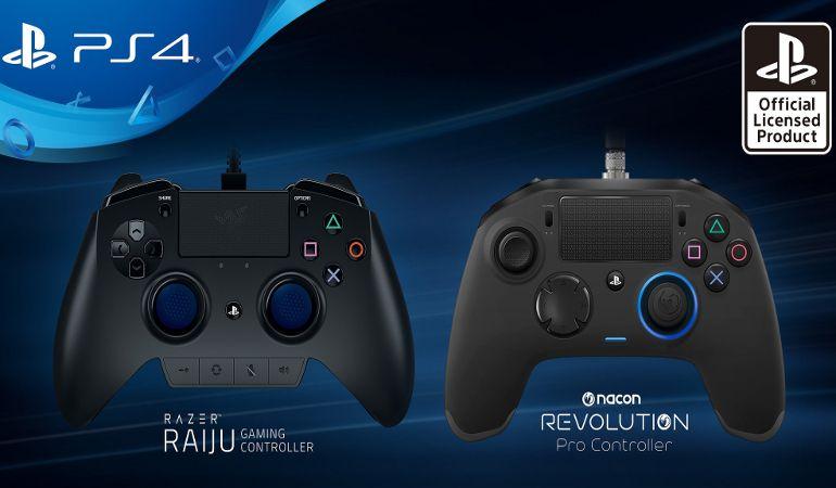 Sony PlayStation 4 : deux nouvelles manettes taillées pour l'eSport