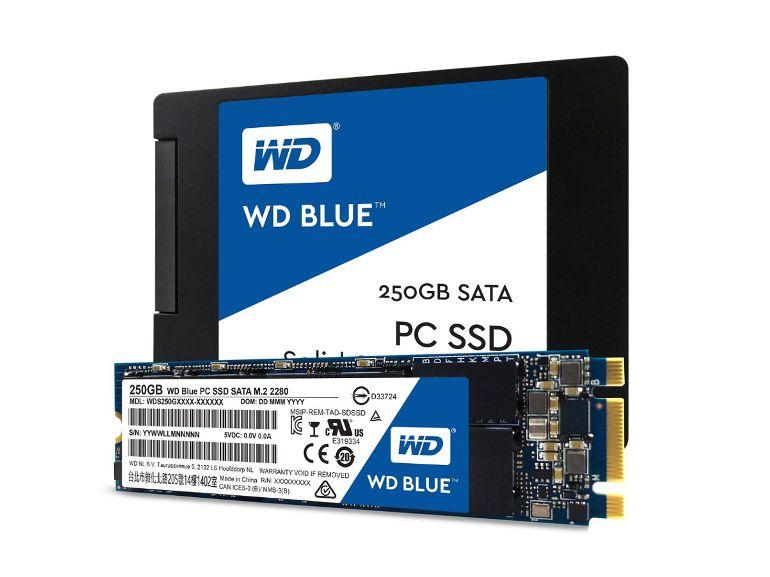 Western Digital annonce ses deux premières séries de SSD: les Blue et Green