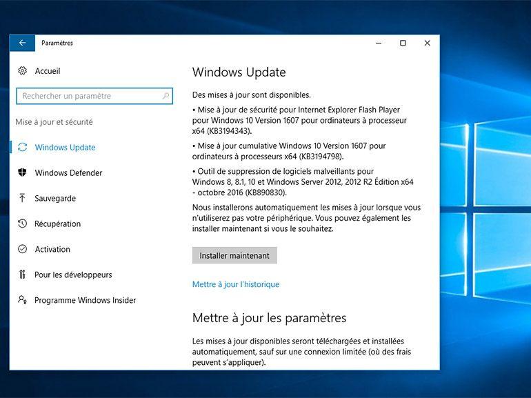 Windows 10 : Microsoft améliore le processus d'installation des mises à jour majeures