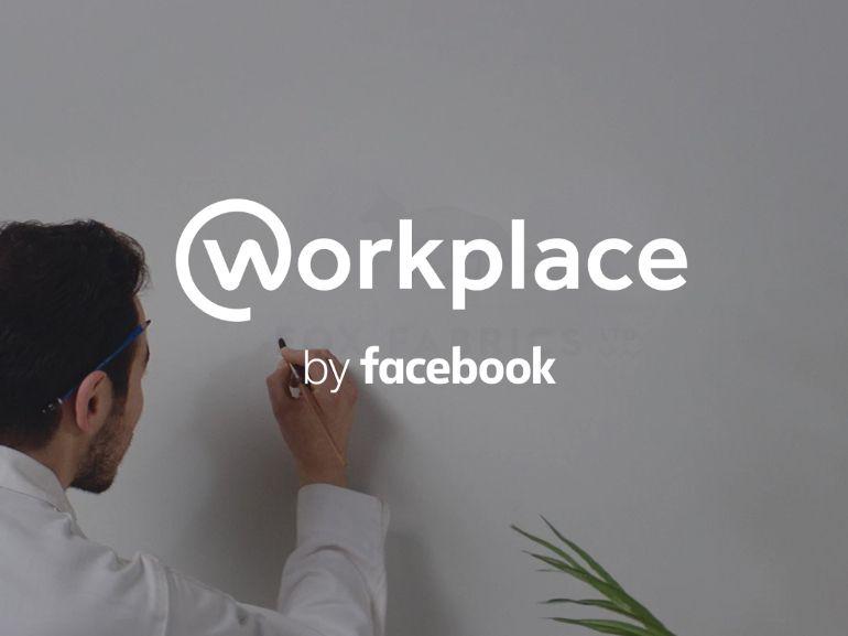 Workplace by Facebook : la version pro du réseau social est disponible
