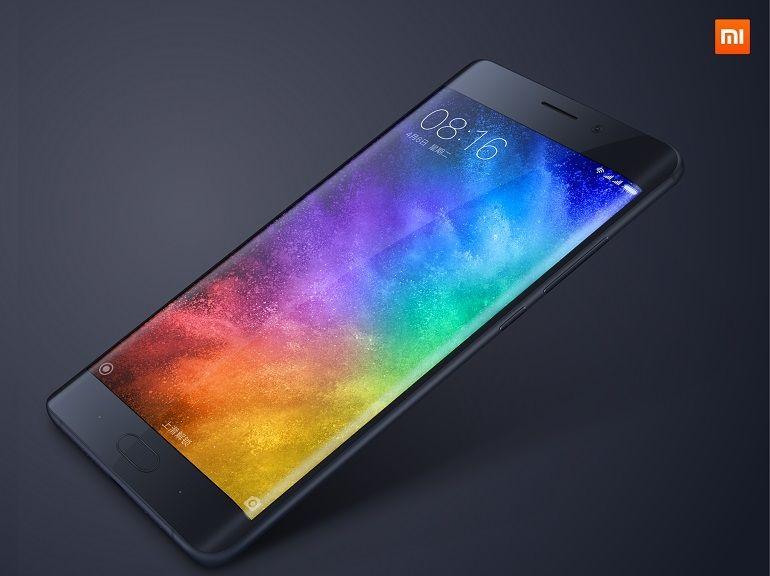 """Xiaomi annonce le Mi Note 2 tout en courbure et un concept de téléphone """"Edgeless"""""""