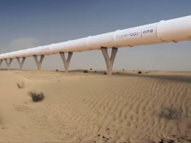 Hyperloop One: vers une ligne reliant Dubaï à Abu Dhabi en 12 minutes