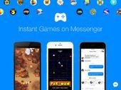 Facebook intègre 17 jeux à Messenger, dont Pac-Man et Space Invaders