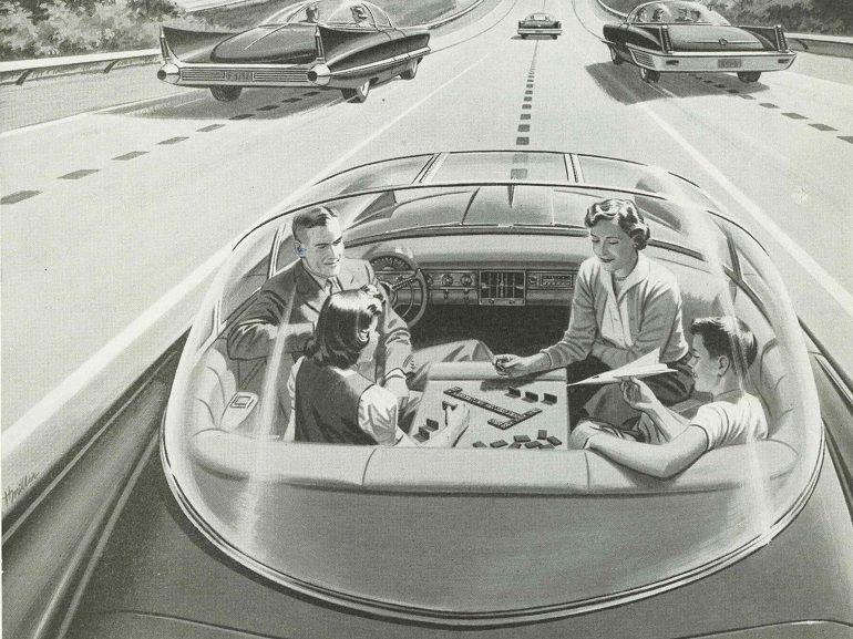 Voitures autonomes : quand Disney et Audi imaginent la voiture de demain