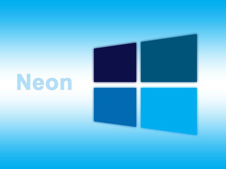 Windows 10 Projet Neon : évolution de la charte graphique pour 2017