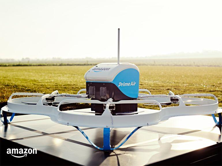 Amazon et La Poste livrent leurs premiers clients par drone