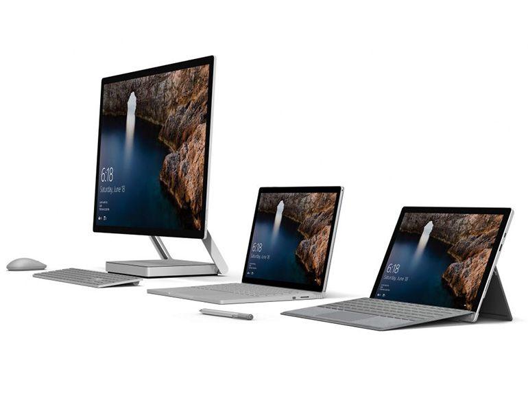 Microsoft se félicite des ventes de Surface, et remercie le MacBook Pro