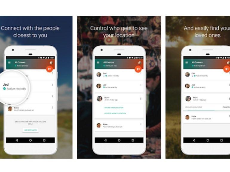 L'application Google Trusted Contacts permet de géolocaliser ses proches