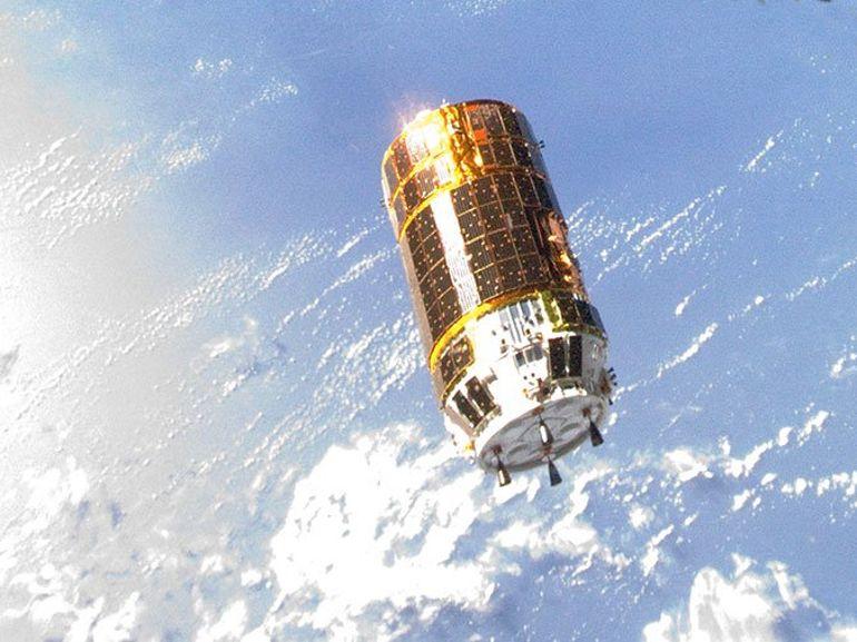 Le vaisseau japonais chargé de nettoyer l'espace est arrivé à l'ISS