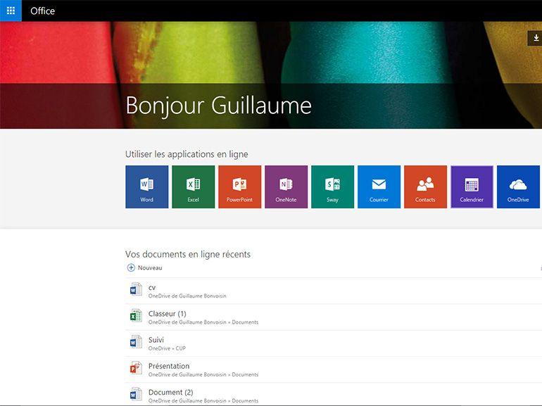 Microsoft Office : une mise à jour majeure pour Office.com