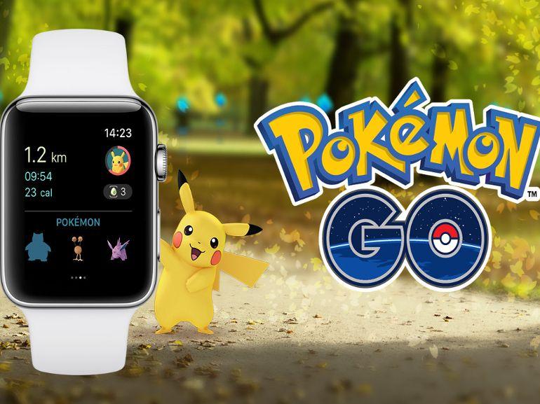 Pokémon Go est disponible sur Apple Watch