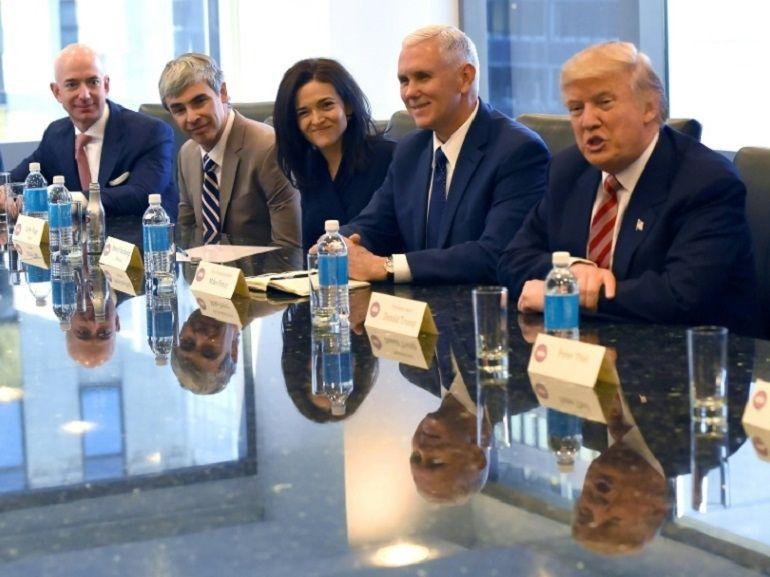 Trump : opération séduction auprès des géants de la Silicon Valley