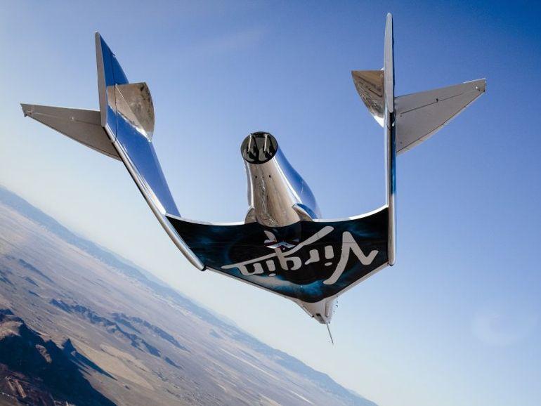 Le vaisseau de tourisme de Virgin Galactic réussit son premier vol libre