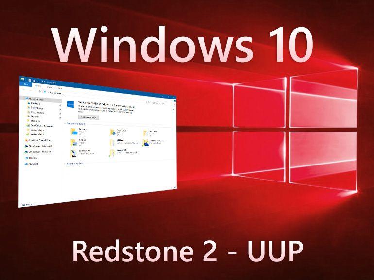 Windows 10 : une pause pour préparer la nouvelle plateforme de mise à jour UUP