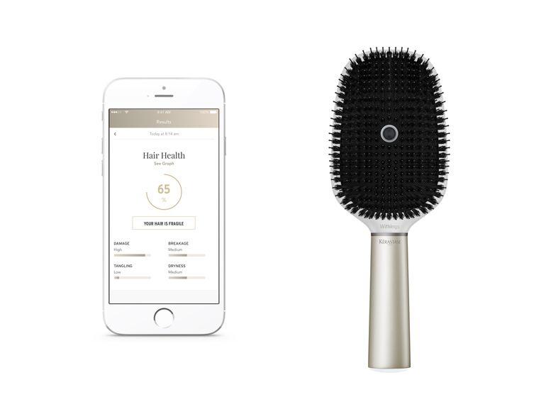 CES 2017 : L'Oréal et Withings lancent une brosse à cheveux connectée