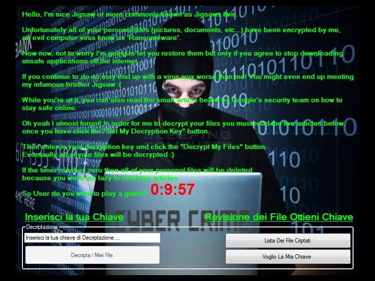 Koolova : le ransomware qui veut vous sensibiliser à la sécurité